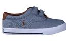 Ralph Lauren velcro blauw