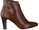 Zinda (red) boots cognac