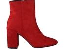 Pearlz boots met hak rood