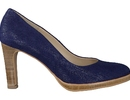 Zinda Red pump blauw