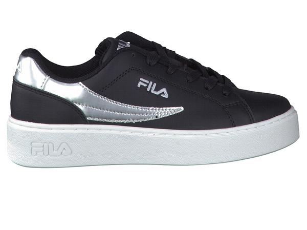 a671f7f7e86 zwart fila sneaker bij Schoenen Verduyn | Gratis levering