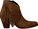 Kanna boots met hak cognac