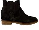Kanna boots met hak kaki