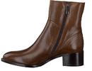 Calpierre boots met hak bruin