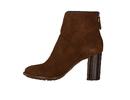 Zinda Red boots cognac