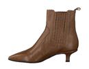 Pomme D'or boots met hak cognac